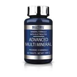 Scitec Nutrition Advanced Multi Mineral 60Tablets