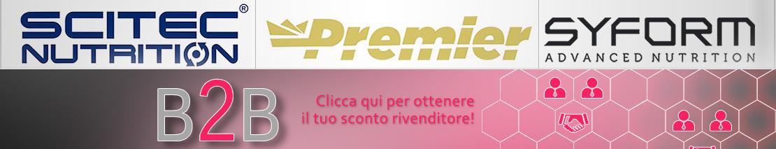 Scitec Nutrition Premier Syform Banner Logo